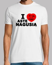 i love nagusia aste t-shirt