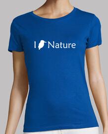 I Love Nature (Blanco - Mujer)
