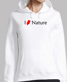 I Love Nature (Rojo-Negro)