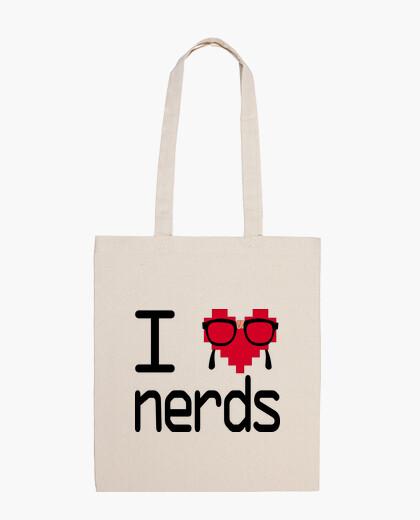 Bolsa I love nerds!