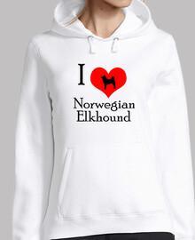 I love norwegian elkhound