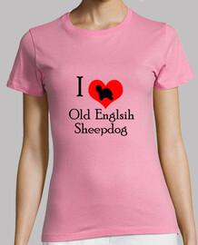 I Love Old Englisg Sheepdog