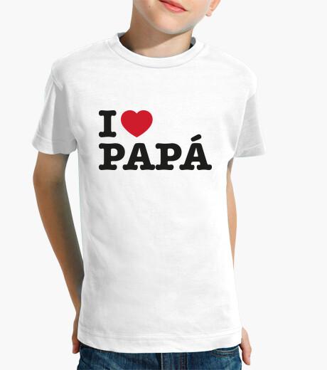 Ropa infantil I Love Papá
