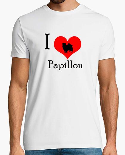 Camiseta I love papillon
