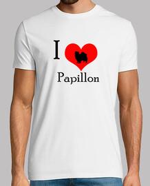 I love papillon