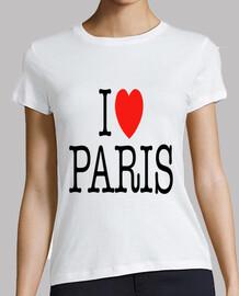 I Love Paris chica
