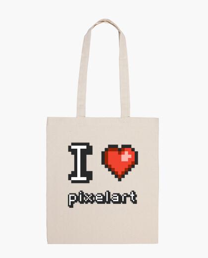 Bolsa I Love PixelArt