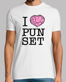 I love Punset - camiseta chico