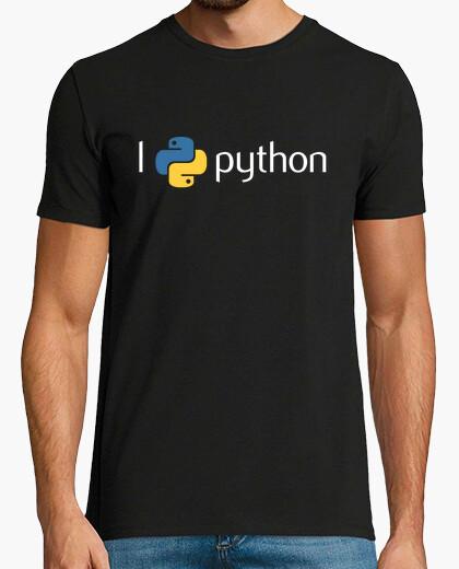 Camiseta I love python