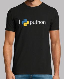 I love python