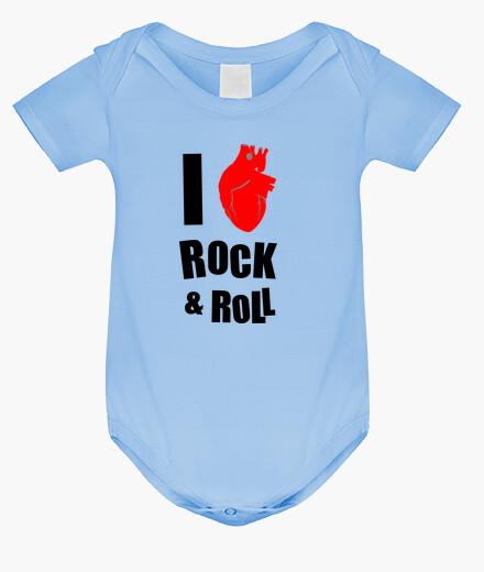 Ropa infantil I LOVE ROCK & ROLL