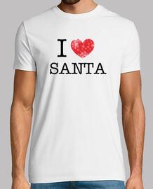 I Love Santa - Homme