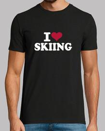 i love skier
