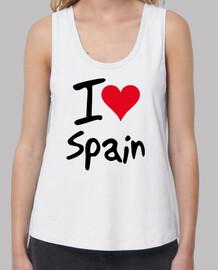 I Love Spain con todo mi rojo corazón