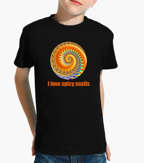 Ropa infantil I love spicy snails