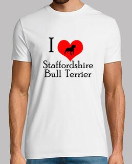 i love staffordshire - bullterrier