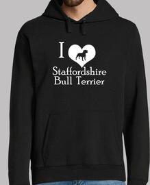 I love staffordshire bull terreir (W)