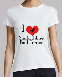 I love staffordshire bull terrier