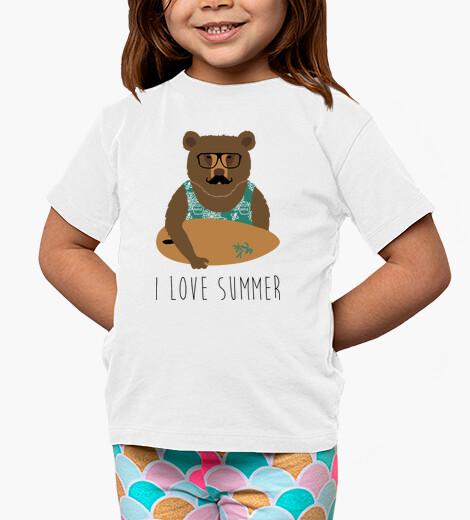Ropa infantil I love summer