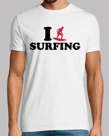 i love surfen