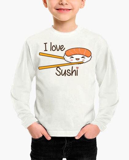 Ropa infantil I love Sushi