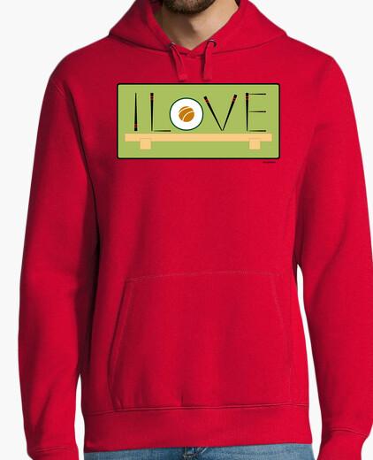 I love sushi hoodie