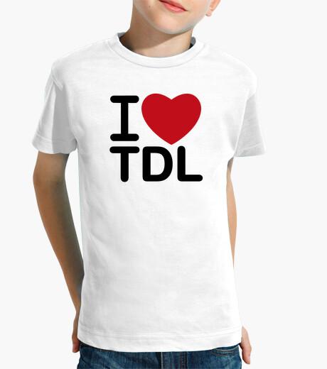 Ropa infantil I Love TDL (TuDeLa)