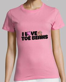 I love toe beans