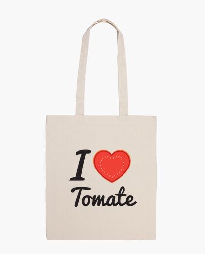Bolsa I love tomate