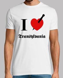 I love Transylvania (negro fuente)