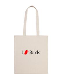 i love uccelli (bag)