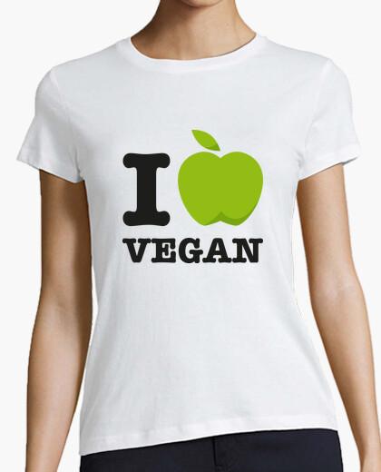 Camiseta I Love Vegan