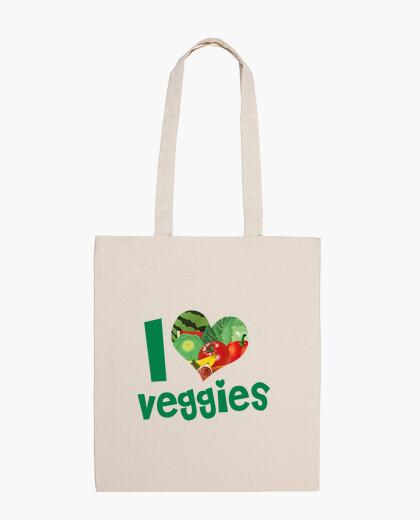 Bolsa I LOVE VEGGIES