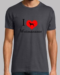 i love weimaraner