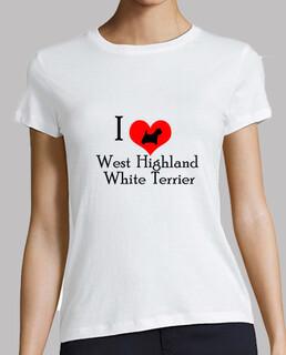 i love west highland white terrier