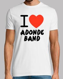 i love where band