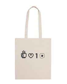 i love you an egg_bag