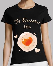 I love you an egg heart hearts