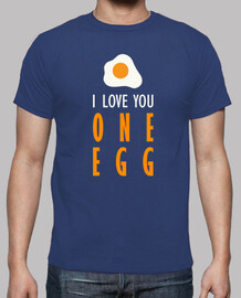 I love you one egg