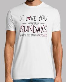 i love you più di domenica