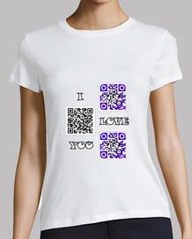 i love you qr code kod in love