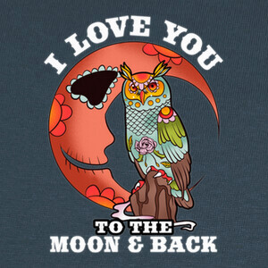 Camisetas I Love You To The Moon And Back