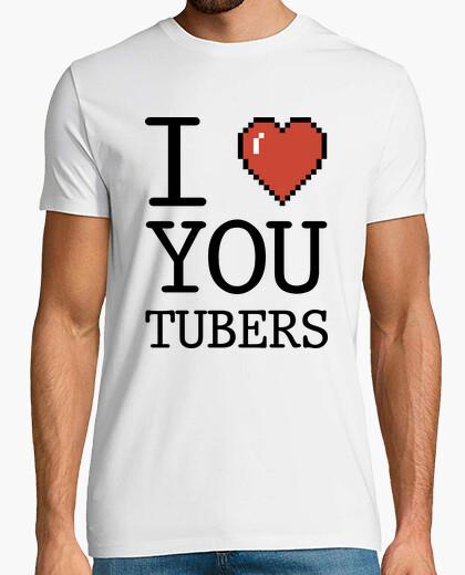 Camiseta I Love Youtubers