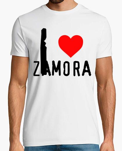 I love Zamora - Camiseta