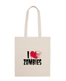 I love zombies - Bolsa