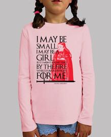 I May Be Small. I May Be a Girl. Juego de Tronos