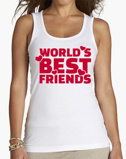 T-shirt i migliori amici del mondo