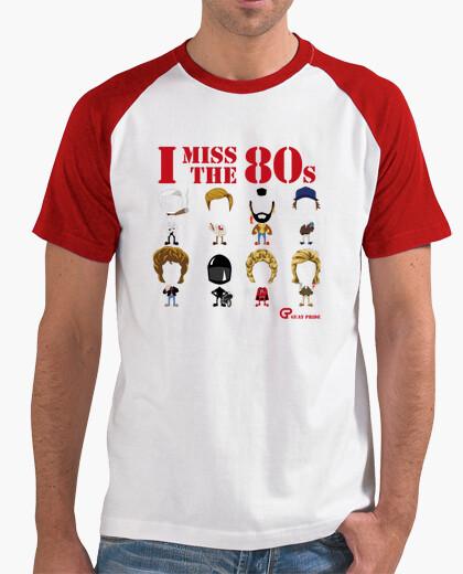 Camiseta I miss the 80s