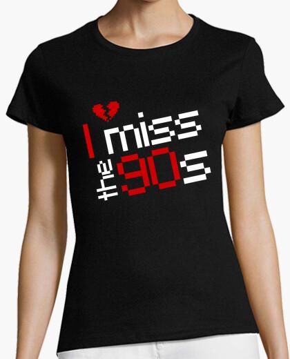 Camiseta I miss the 90s