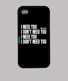 I need you 0001